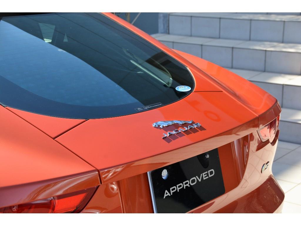 F-TYPE 3.0リッター V6 スーパーチャージドガソリンエンジン S' (380PS) クーペ