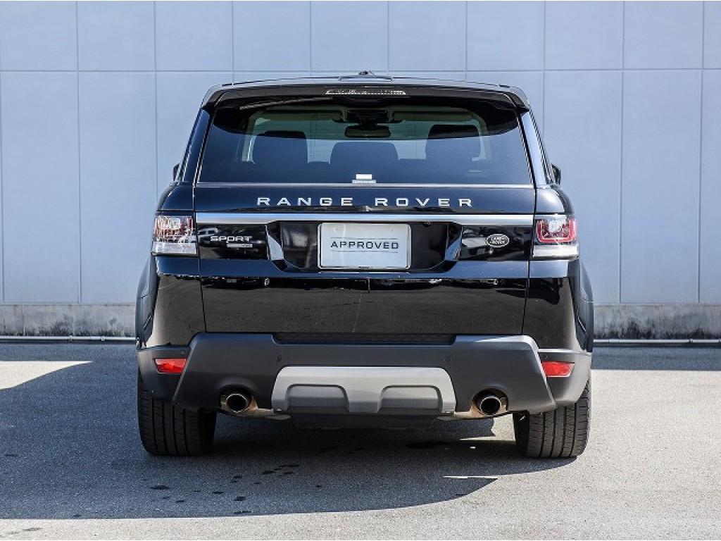 RANGE ROVER SPORT 3.0リッター V6スーパーチャージドガソリンエンジン HSE