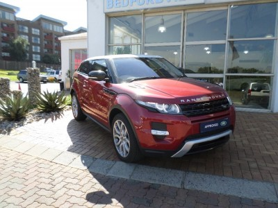 Used jaguar Evoque Coupe in Bedfordview
