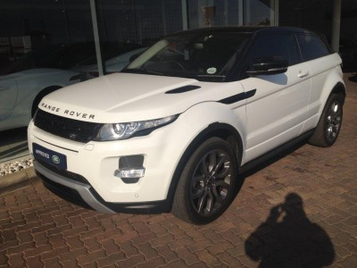 Used jaguar Evoque Coupe in Oakdene