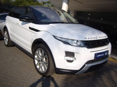 Used jaguar Evoque Coupe in Sandton