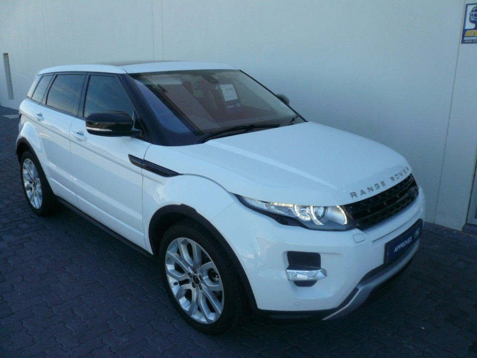 2013 Range Rover Evoque 5 Door Si4
