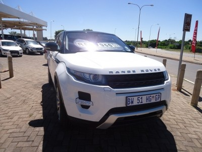 Used jaguar Evoque Coupe in Vereeniging